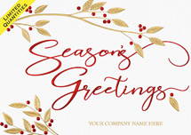 Holly & Harmony Holiday Cards